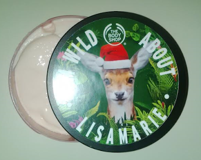 This week I'm obsessed with... The Body Shop Personalized Body Butters!