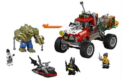 JUGUETES - LEGO Batman La Película  70907 Reptil Todoterreno de Killer Croc  Producto Oficial | Piezas: 460 | Edad: 8-14 años  Comprar en Amazon España