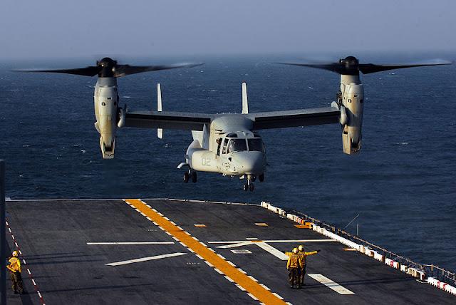 Gambar 50. Foto Helikopter Angkut Militer Bell Boeing V-22 Osprey