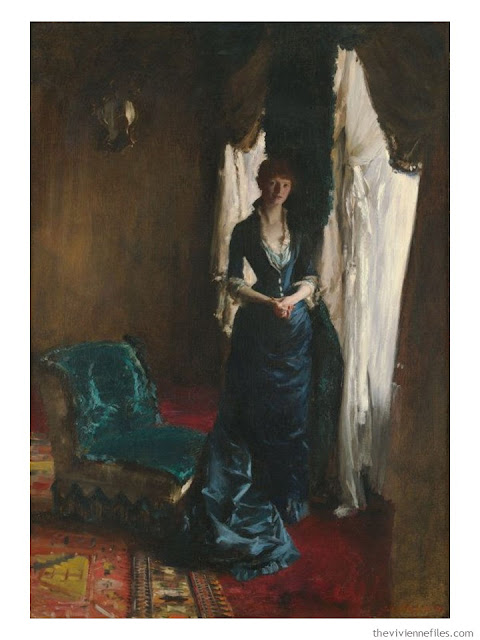 Building a Capsule Wardrobe by Starting with Art: Madame Paul Escudier by John Singer Sargent