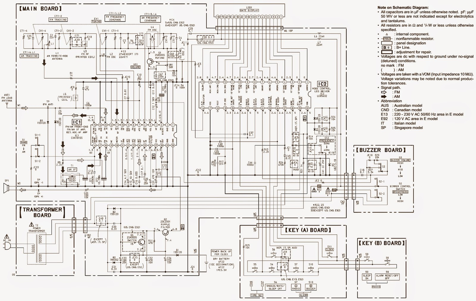 Wire Diagram For A Sony Awa Radio : 33 Wiring Diagram