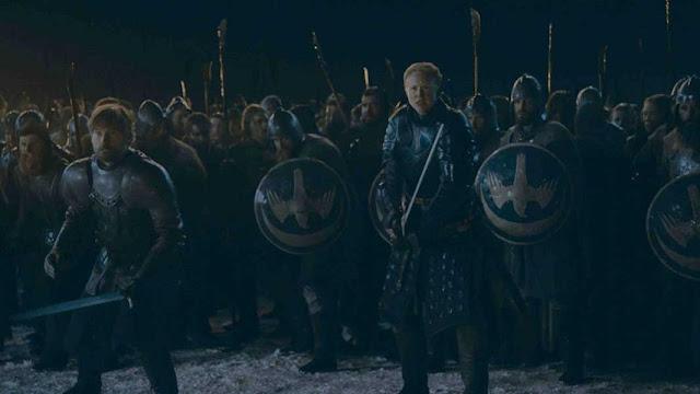 مع صيحات جيش الدوثراكي تبدأ الحرب