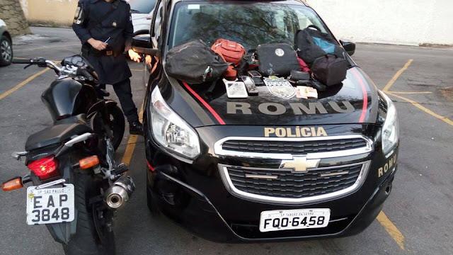 Guarda Civil de Taboão da Serra, persegue e detém ladrões