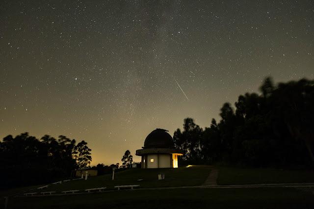meteoro registrado por Leonardo Froes