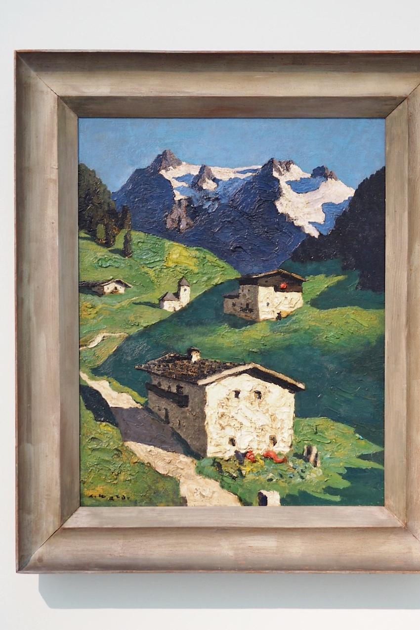 Alfons Walde, Frühling in Tirol (1932)