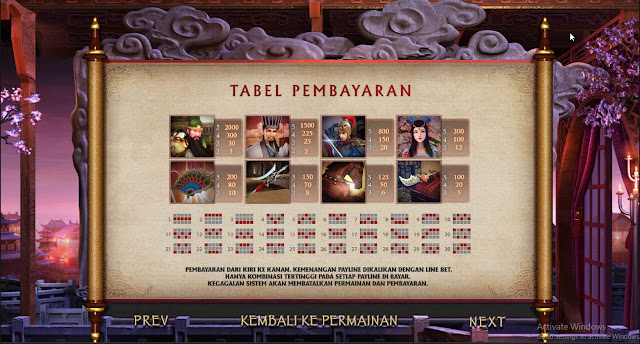 AGEN SLOT GAMES THREE KINGDOMS W88 SLOTS