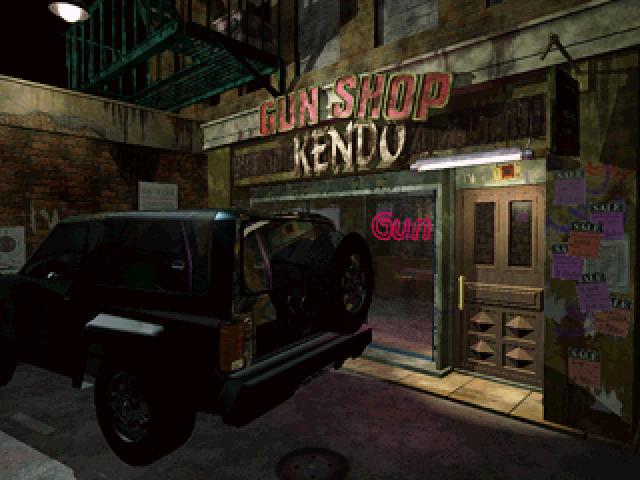 Tienda de armas de Resident Evil 2