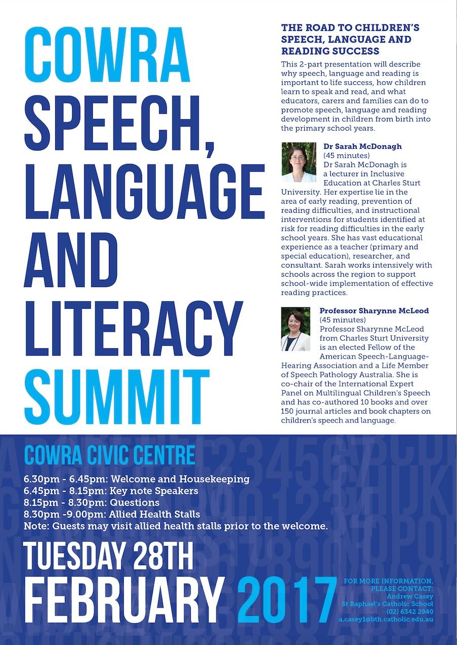 speech on literacy