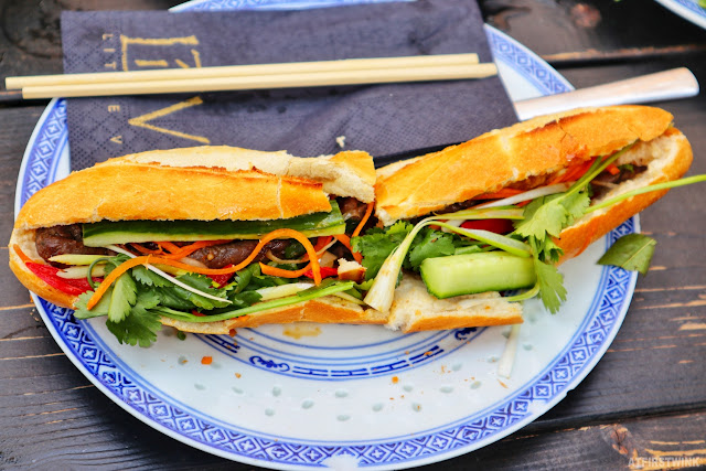 Little V Vietnamese restaurant Rotterdam Bahn Mi beef baguette