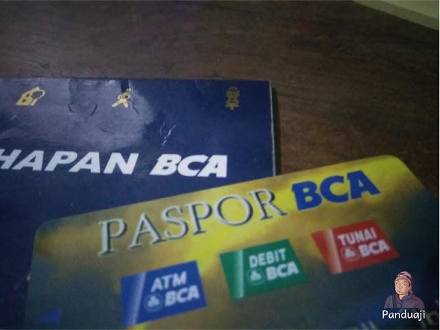 ATM dan Buku Tabungan BCA