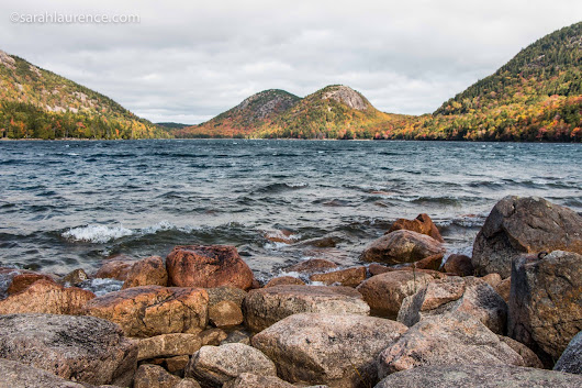 Acadia National Park: Jordan Pond & the Bubbles
