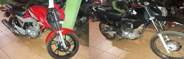 Polícia de Guajará-Mirim recupera duas motocicletas roubadas em Ariquemes RO