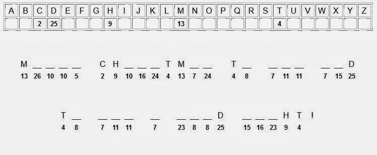 photograph regarding Printable Cryptograms identified as 100+ Printable Cryptograms yasminroohi