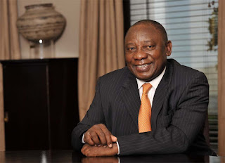 Question Time With The President. Ramaphosa Answers Tweeps On Live Chat