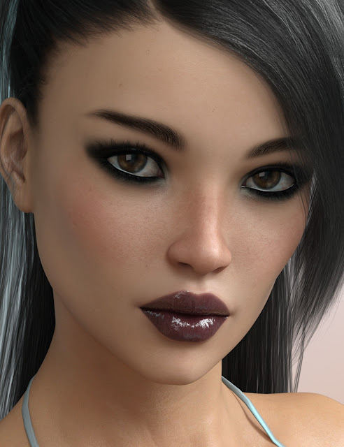FW Ella HD for Genesis 3 Female