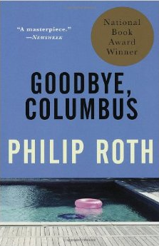 Goodbye, Columbus by Philip Roth book cover