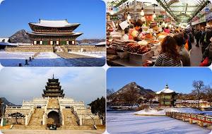 Gyeongbok Palace, Dongdaemun Market, National Folk Musdeum