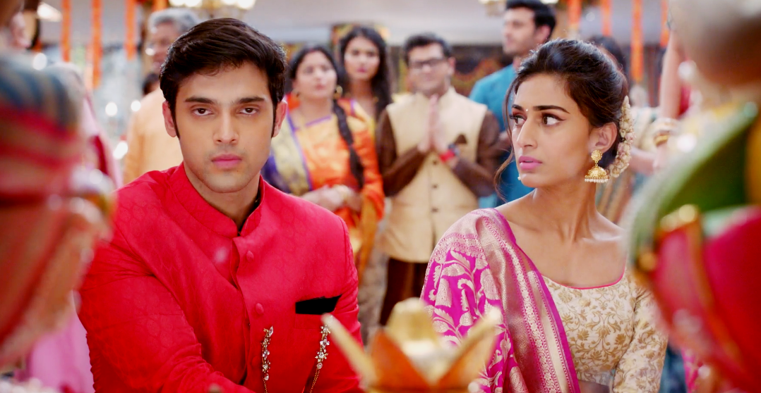 Anurag and Prerna Perform Puja Together in Kasautii Zindagii