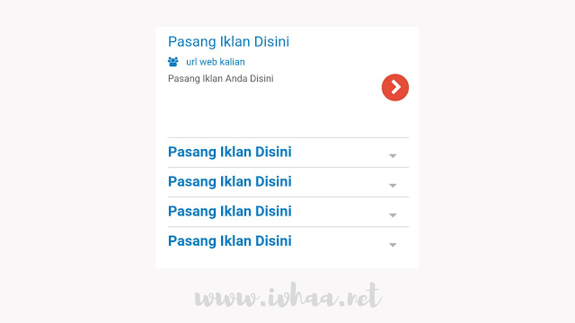 Cara Membuat Widget Iklan Teks Ala Google Adsense