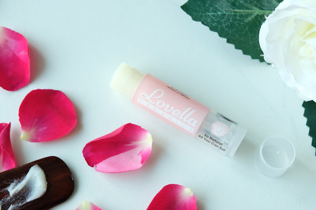 Lovella Organics Rose Cupcake Lip Treatment