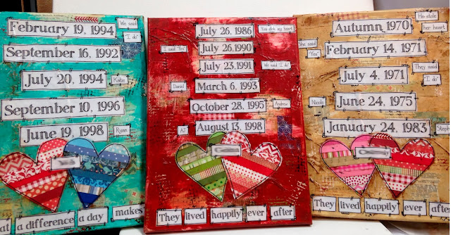 family dates, family dates signs, birthdates sign, childrens birthdates sign, mixed media sign, family subway date sign