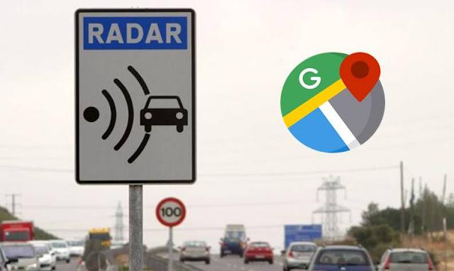 غوغل لا تريدك أن تدفع مخالفات السرعة و تضيف إلى تطبيق Google Maps معرفة مكان رادارات السرعة ! %D8%BA%D9%88%D8%BA%D