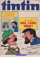 Je vous dis, MEIL - LEURS VOEUX !, couverture de Hergé