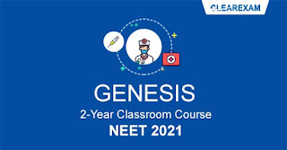NEET Exam Classroom Course - Two Year GENESIS