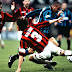 """Desailly: """"A única vez que vi o Maldini preocupado foi com o Ronaldo"""""""