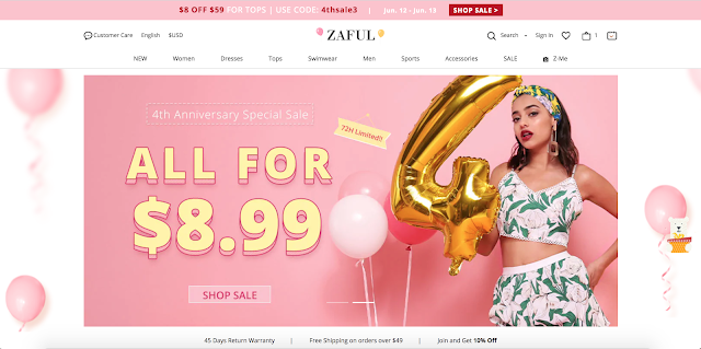 Zaful Wishlist: We're Cool for the Summer