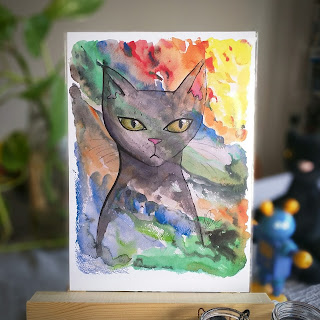 Cats love to be hidden print by Elizabeth Casua, tHE 33ZTH oRDER