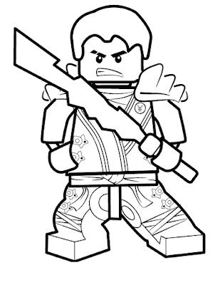 Gambar Mewarnai Lego - 8