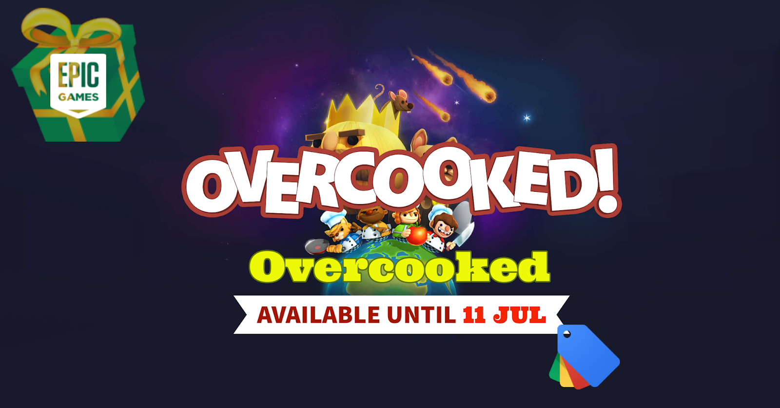 Giveaway: Overcooked Available for Free – Until Jul 11