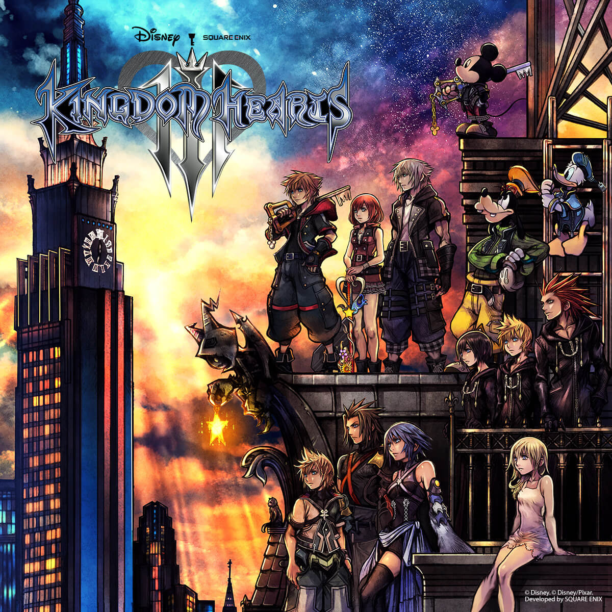 Kingdom Hearts III Box Art Revealed