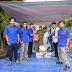 AMBO Bengkulu Peduli Salurkan Sembako Korban Banjir