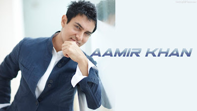 Bollywood superstar Aamir Khan Images And Wallpaper