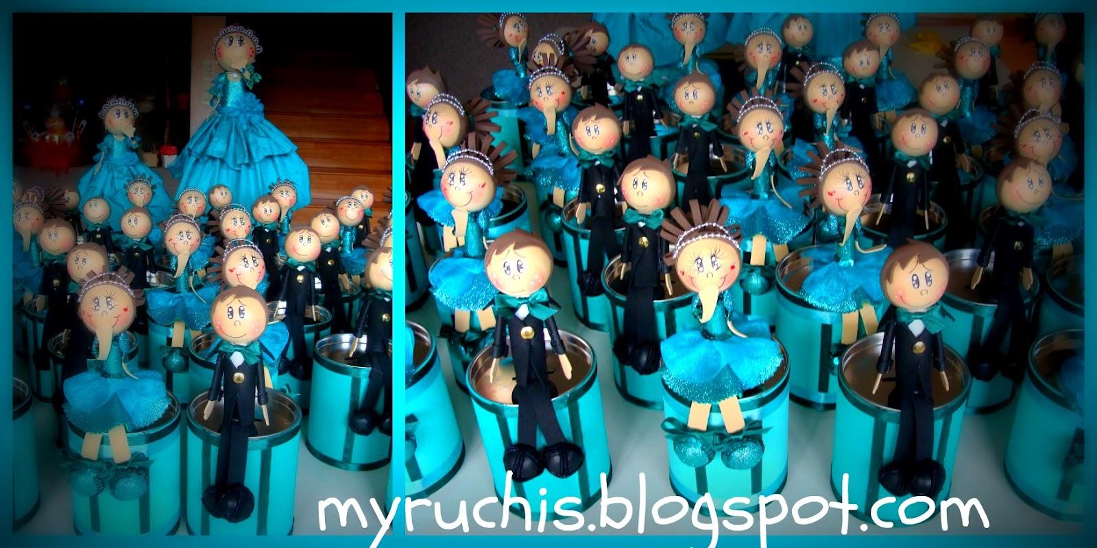 b8846e70e Myruchis  Ideas para Fiestas Infantiles. Presentación Dany