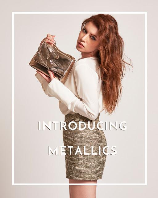 metallic emailer