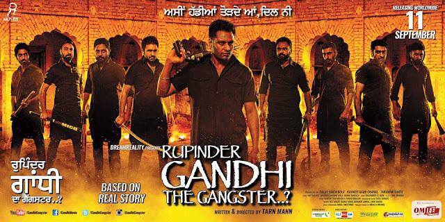 Gandhi The Gangster 2015 Punjabi Movie HDRip Downoad