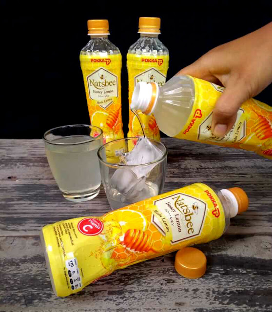 Natsbee Honey Lemon minuman antioksidan