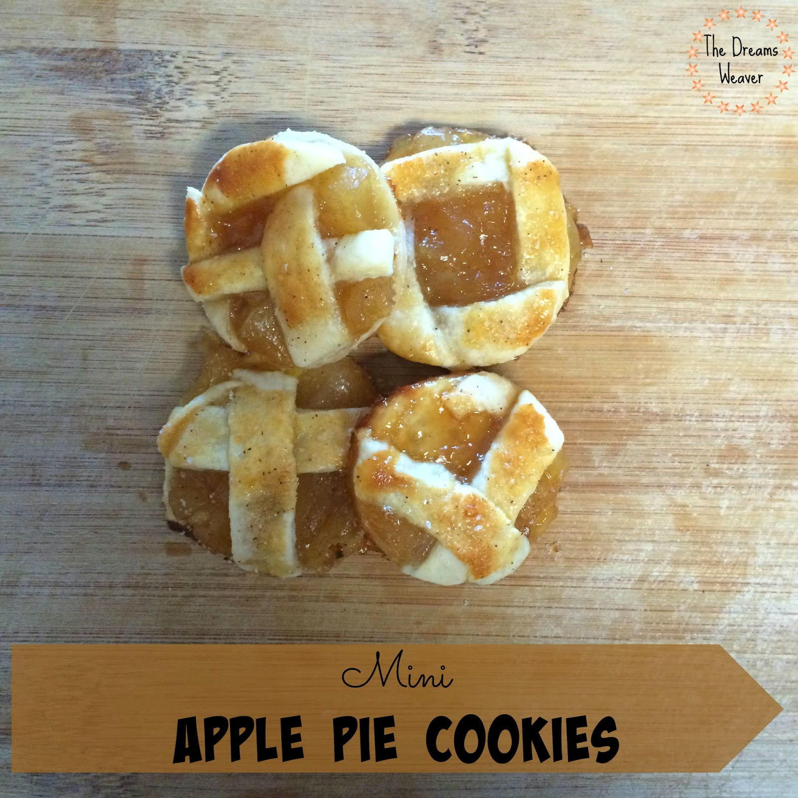 Mini Apple Pie Cookies