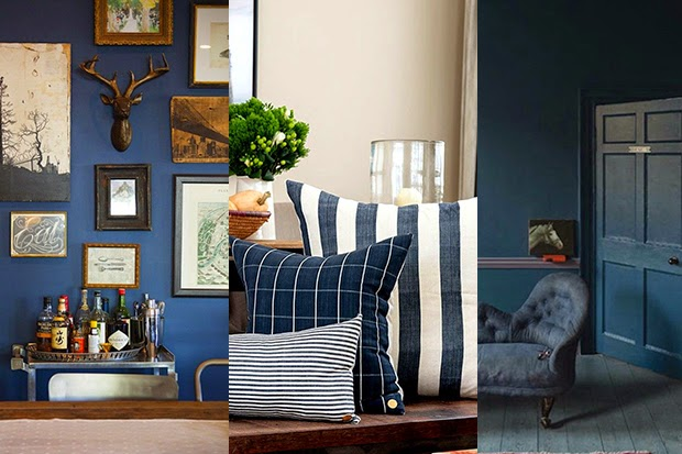 Interior Trend 2015 - Hues of Blue - shewandersshefinds.com