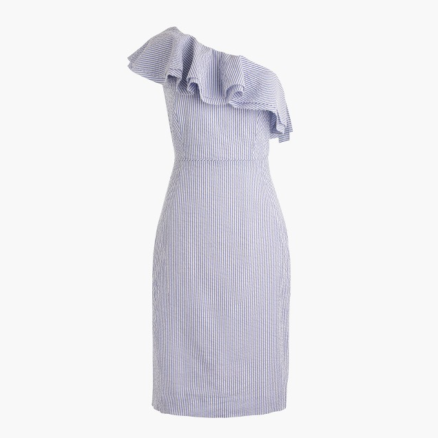 J Crew seersucker dress