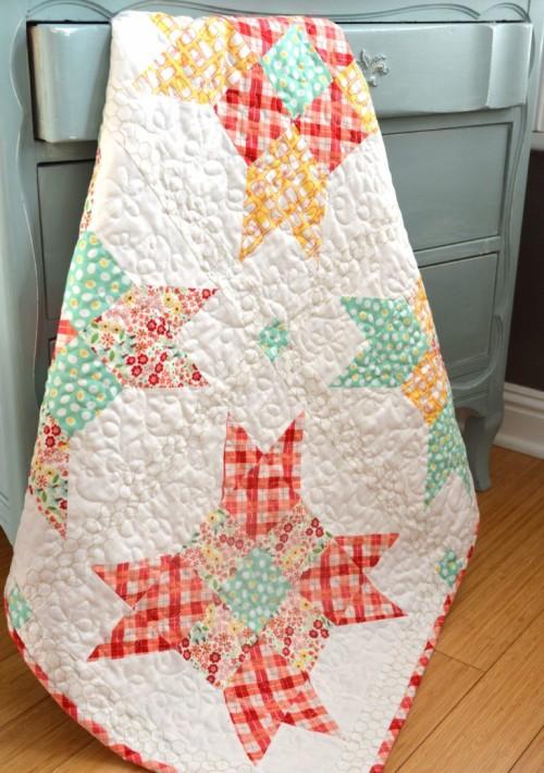 Five Fat Quarter Fun - Free Quilt Pattern