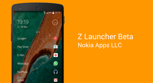 Z Launcher Beta v1.2.1 Apk