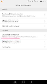 android telefonlarda yedekleme