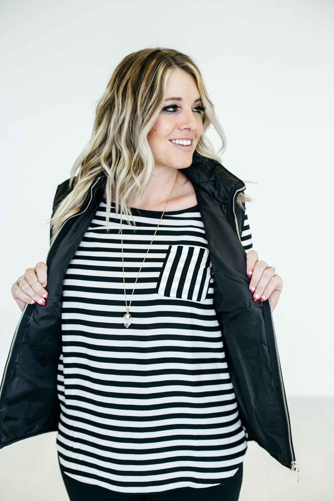 thredUP, Utah Fashion Blogger, Stripes