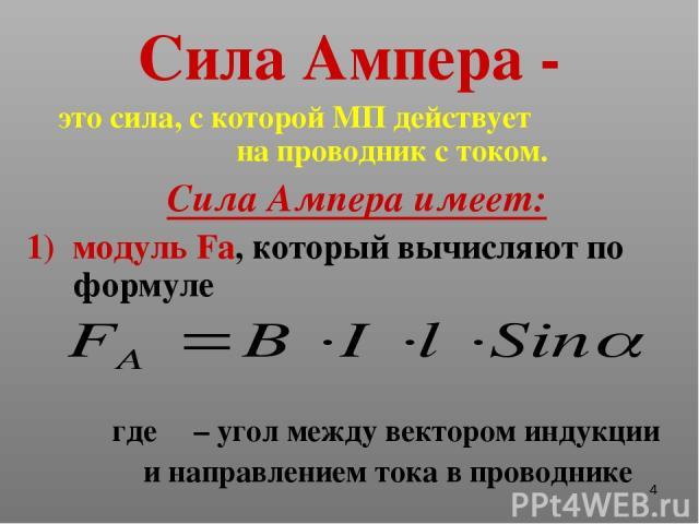 Урок решение задач сила ампера 11 класс решение задач по физике цели