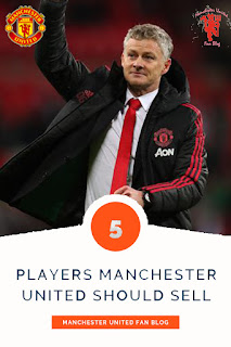 5 Players Manchester United Should Sell