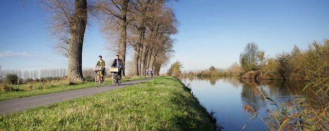 Cicloturismo en Flandes